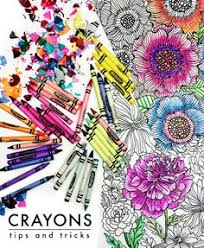 Small Picture Use q tip and baby oil to blend crayons great DIY tip Art