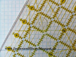 Faeries And Fibres Tutorial Draft Your Own Diamonds Hexagons And