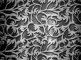 Silver Patterns Cool Steel Metal Grey Silver Patterns Curls Textures HD Wallpaper