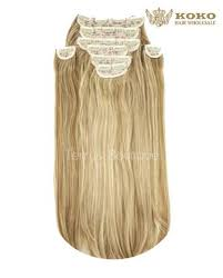 Koko 20 A8 Straight 8 Piece Clip In Extensions