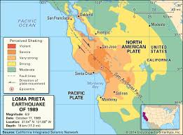 Bay area 30 year earthquake risk projection. San Francisco Earthquake Of 1989 History Magnitude Deaths Facts Britannica