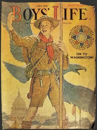 1935 boys life cover norman rockwell boy scout