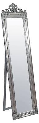 silver floor mirror. Plain Mirror Elizabeth Floor Mirror Silver With Silver
