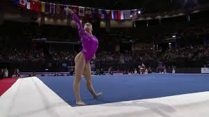 floor gymnastics moves. Laurie Hernandez Competes On Floor With Attitude At Pac Rim Gymnastics Moves
