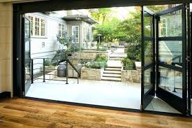 interesting folding glass doors exterior