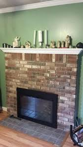 how to remove brick fireplace name views size diy remove paint from brick fireplace