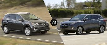2015 Toyota RAV4 vs 2015 Hyundai Tucson