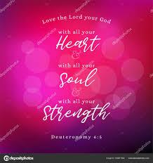 Verset De La Bible Sur Les Commandements De Dieu Amour De Dieu De