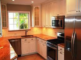 image of small u shaped kitchen design ideas layout