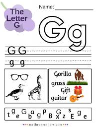 Esl phonics & phonetics worksheets for kids download esl kids worksheets below, designed to teach spelling, phonics, vocabulary and reading. Free Letter G Worksheets Free Homeschool Deals C