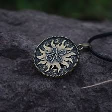 12pcs sanlan round celt symbol for strength pendant necklace meaning strength necklaces in pendant necklaces from jewelry accessories on aliexpress com