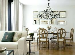 dining room chandelier size for room dining gorgeous decor large over table with led determine chandelier