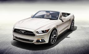 2015 ford mustang white. 2015 ford mustang 50th anniversary edition convertible pictures photo gallery car and driver white