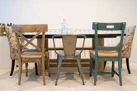 mismatched dining chairs ideas