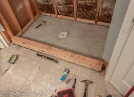 tile shower drain photo 4 of 7 bathroom remodel shower drain installation tile pan how to