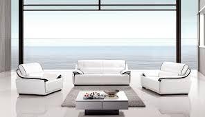 White Living Room Sets Modern White Black Living Room Set Baccardi Slick Furniture