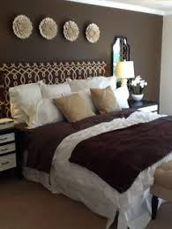 Brown Bedroom Decor Designer unknown- Photo Courtesy of Dana Guidera Author  of 7 Poems from