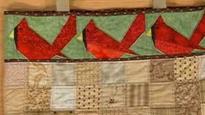 Cardinal Bird Quilt Block With Paper Piecing &  Adamdwight.com