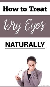 the main symptoms of dry eyes are