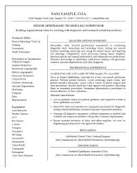 Ophthalmic Assistant Sample Resume Mesmerizing Medical Lab Assistant Resume Kenicandlecomfortzone