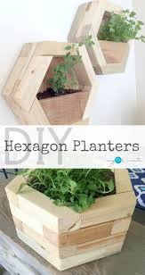 Build your own amazing DIY Hexagon Planters out of your own scrap wood  pile! Free