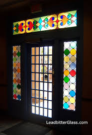 stained glass doorway