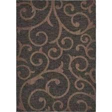 10 x 10 outdoor rug outdoor chocolate brown 7 ft x ft area rug 10 x