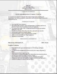 Unique Design Tech Resume Template Instrumentation Technician Resume