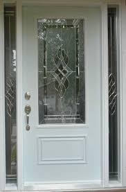grey double front doors