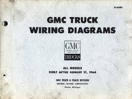 6066 gmc trucks library of manuals x 6505 gmc truck wiring diagrams all models built after 17 1964
