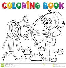 Th Me 3 De Jeu D Enfants De Livre De Coloriage Illustration De