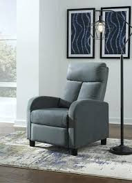 stationary recliners low leg recliner blue fabric furniture lazy boy