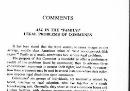 family problem essay