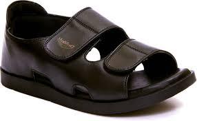 Medifeet Size Chart Medifeet Men Black Sandals