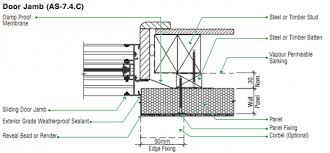 exterior door jamb detail. Door Head Jamb Frame Details Cad Files Dwg Plans And Exterior Detail I
