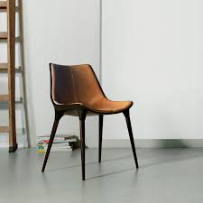 Modern Wood And Leather Dining Chairs