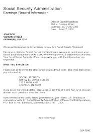 12 Social Security Benefit Verification Letter Phoenix Officeaz