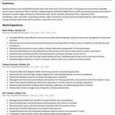 Resume Examples For Accounts Receivable Manager Inspirationa