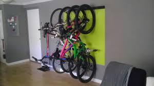 Bike hanger for apartment Storage Solutions Mtbr Forums Bike Rackstorage For Small Apartment Pics Please Mtbrcom