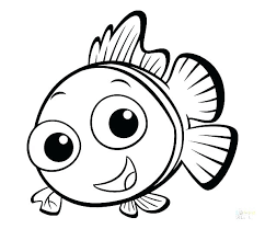 Coloring Pages Fish With Free Printable Ocean Color Of F Tropical