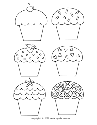 Small Picture Cupcakes Coloring Pages Free Printable Pictures Coloring Pages For