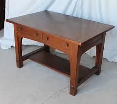 mission oak furniture. Image Is Loading Antique-Mission-Oak-Arts-and-Craft-Library-Table- Mission Oak Furniture