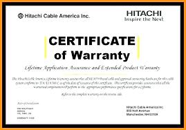 Sponsored Links Construction Warranty Letter Template Free