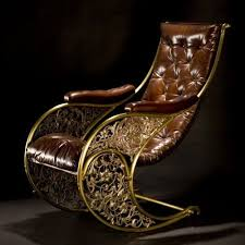 Steampunk Chair! so cool! want it for the shop~