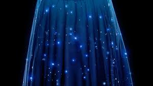 Night Sky Chart Twinkling Star Chart Skirt Lets You Wear The Night Sky