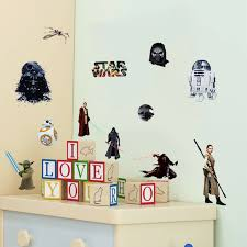 star wars wall stickers death star darth vader robot yoda figure art wall decals for kids room computer refrigerator sticker in wall stickers from home  on star wars wall art stickers with star wars wall stickers death star darth vader robot yoda figure art