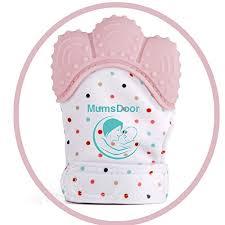 mumsdoor baby teething mitten glove innovative designed baby teething mitten mitts age