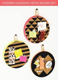 Modern Memo Board DIY Modern Hanging Memo Boards A Little Craft In Your Day 33