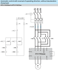 telemecanique reversing contactor wiring diagram wiring for soft starters and variable speed drives can the atsxxxx and rh schneider electric co uk schneider reversing contactor wiring diagram motor contactor