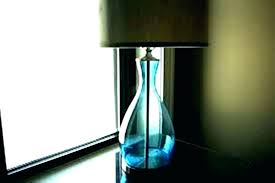 full size of teal coloured lamp base ceramic uk blue glass table lighting magnificent back to